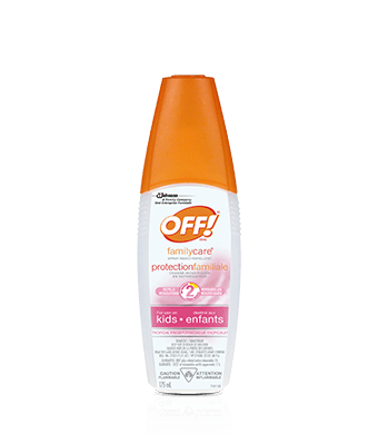 OFF!® FamilyCare® Spray Insect Repellent for Use on Kids – Tropical Fresh®