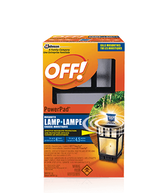 OFF! PowerPad® Mosquito Lamp