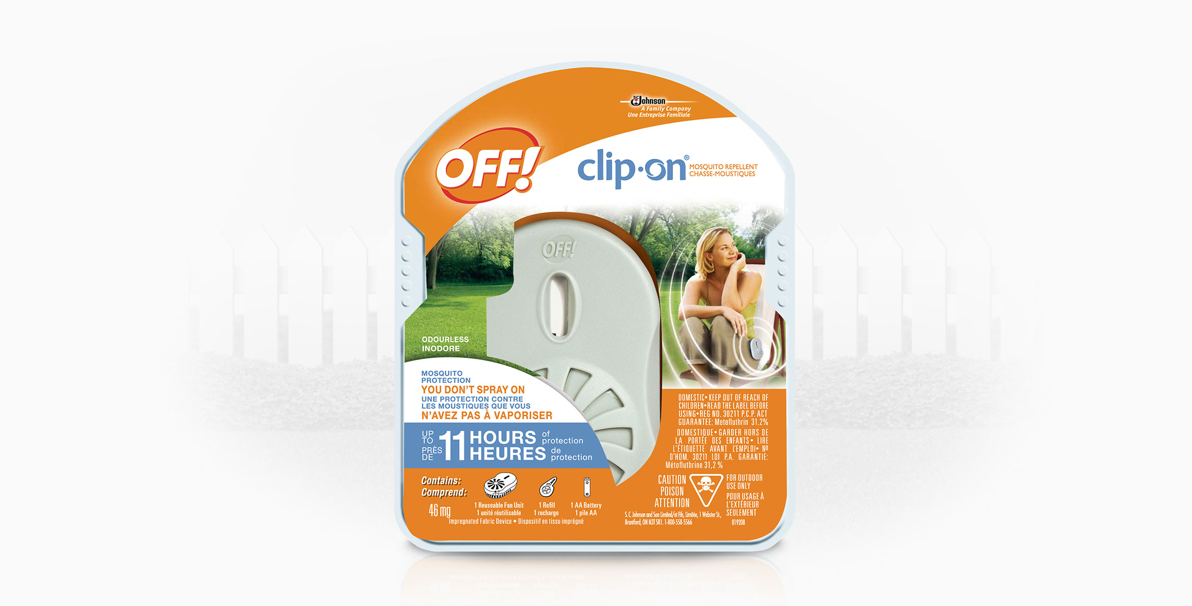 OFF!® Clip-On® Mosquito Repellent