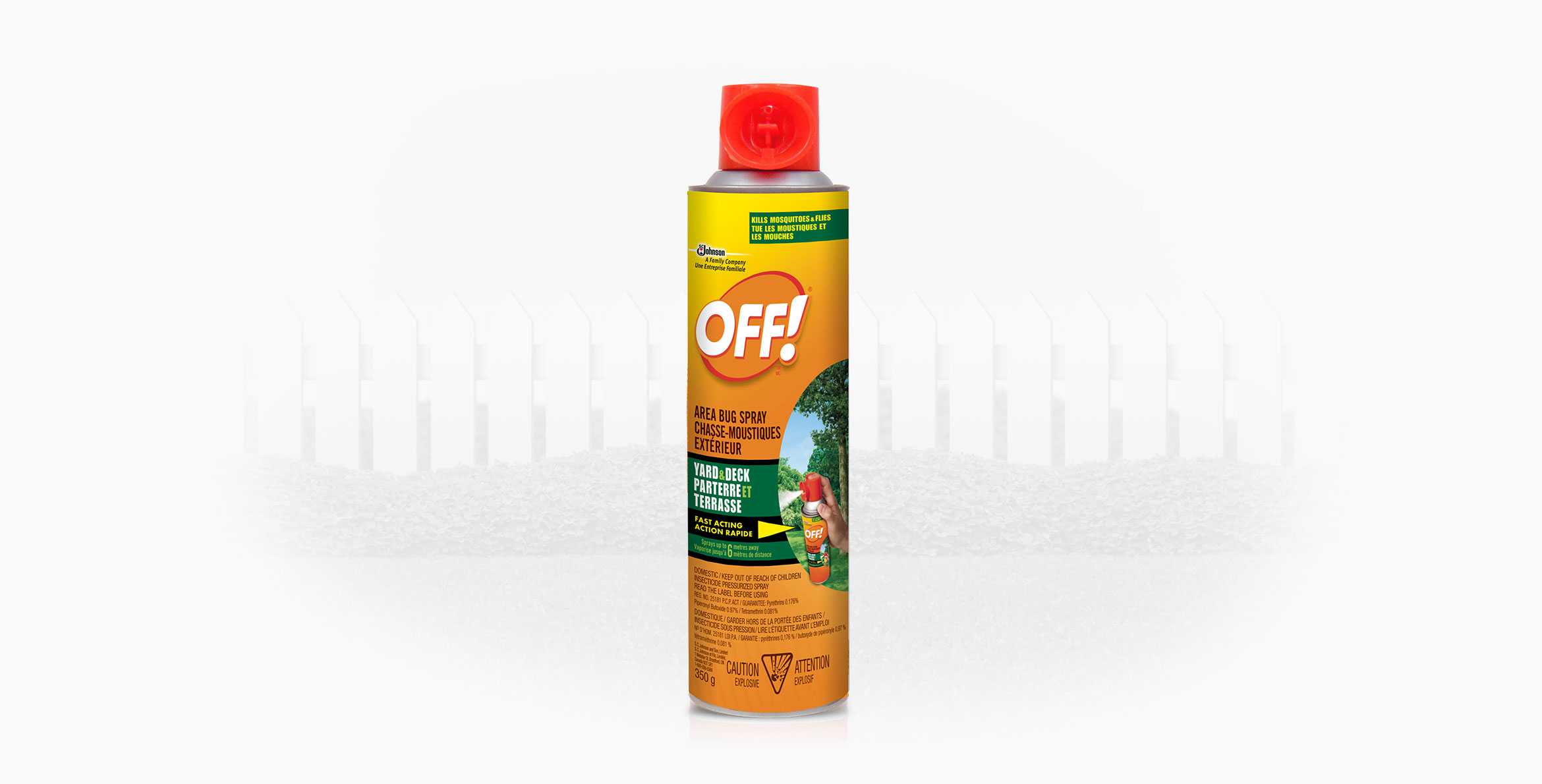 home products off patio deck off area bug spray yard deck