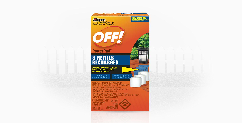 PowerPad® Mosquito Lamp - Refills